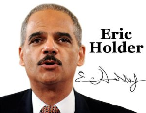 "Attorney General Eric Holder's handwriting and signature reveal that he is an introvert, said forensic handwriting specialist Ronald Rice. Introverts are fearful of emotion and intimacy and live by the motto, ""what is in the best interest of me and only me?"" Introverts are not compatible with emotionally extroverted people, nor can they readily identify with pain and suffering. They are connivers and manipulators, cold, detached and contemptible toward those with whom they work and associate."