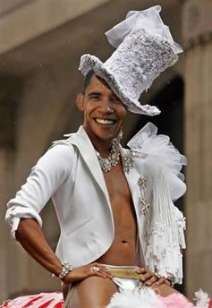 Is barack obama gay
