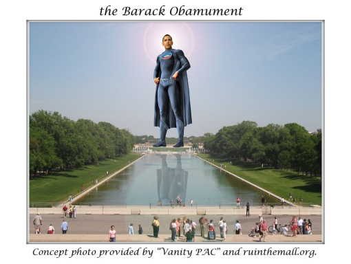 """The Barack Obamument"" by GiovanniWorld member bkeyser"