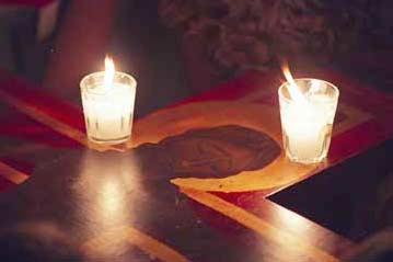 candle cross