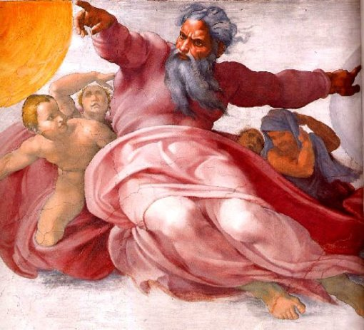 Michelangelo's ceiling fresco in the Sistine Chapel, Vatican